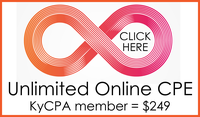 AICPA CPExpress, get unlimited online access to hundreds of quality CPE courses from AICPA subject matter experts on essential topics.